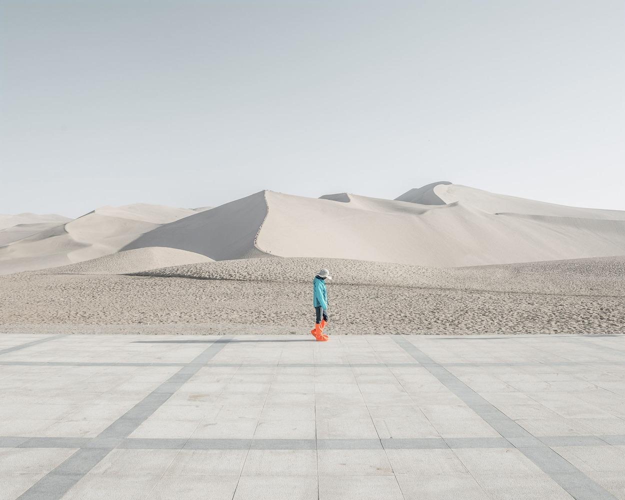 Неземные фотографии пустыни Гоби (Gobi)