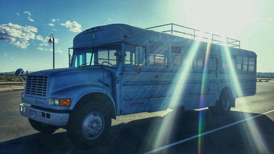 Школьный автобус Патрика Шмидта