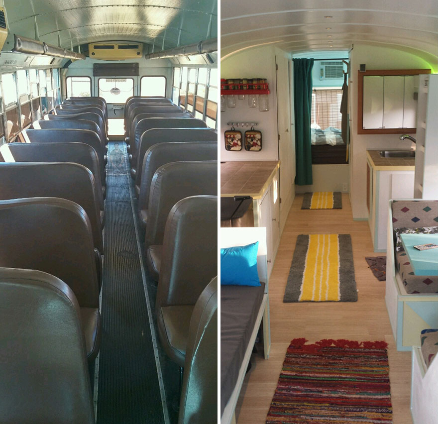 Когда Патрик увидел старый школьный автобус в продаже за 4500 долларов США, он решил купить его