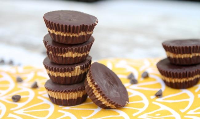 Конфеты с арахисовой пастой за 5 минут