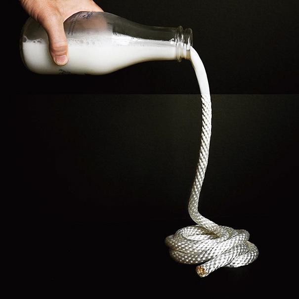 Молоко и верёвка