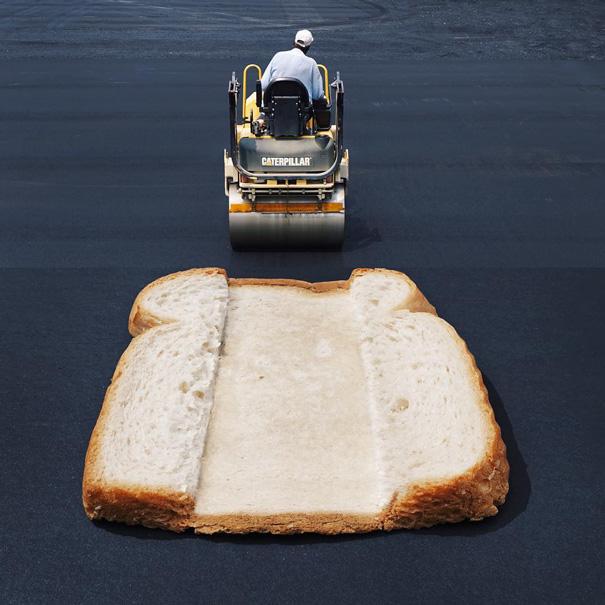 Хлеб и каток