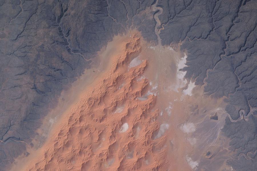 Дюны в центре Алжира.