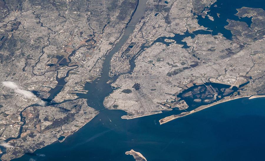 Нью-Йорк и его окрестности.