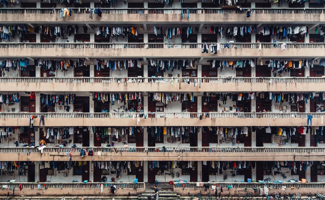 Автор: Винг Кай Ши Ланч в университетском общежитии в Гуанчжоу, Китай.