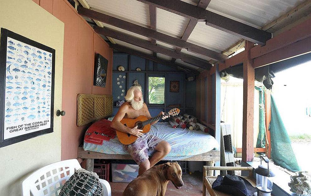 История Давида Глашина: реальная жизнь Робинзона