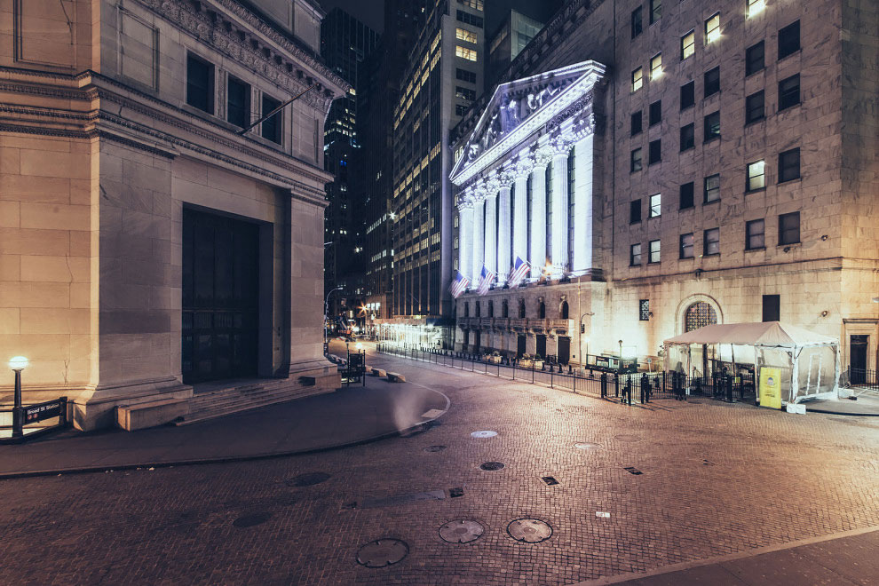 Жуткие фотографии пустого Нью-Йорка от Хенаро Барди