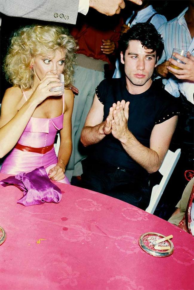 Оливия Ньютон Джон и Джон Траволта на вечеринке, 1978 год: