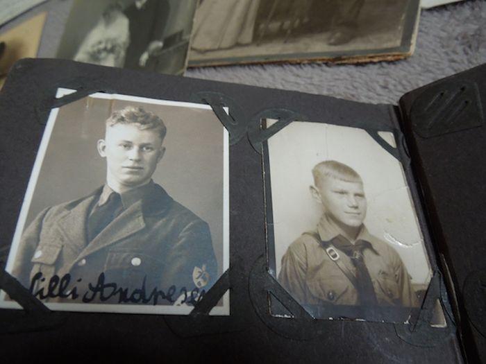 Сейф с историей переживший Вторую мировую войну
