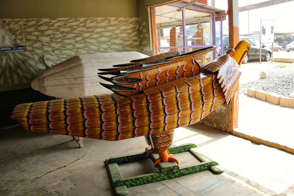 Фигуративные гробы из Ганы