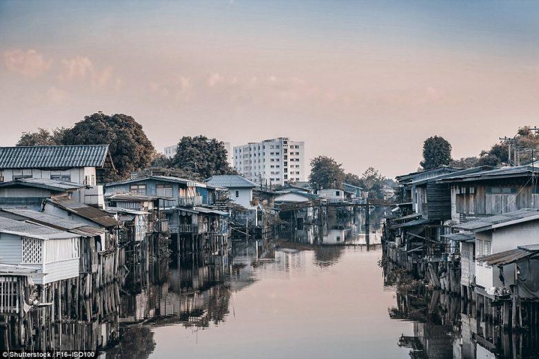 Фотографии где нищета граничит с роскошью