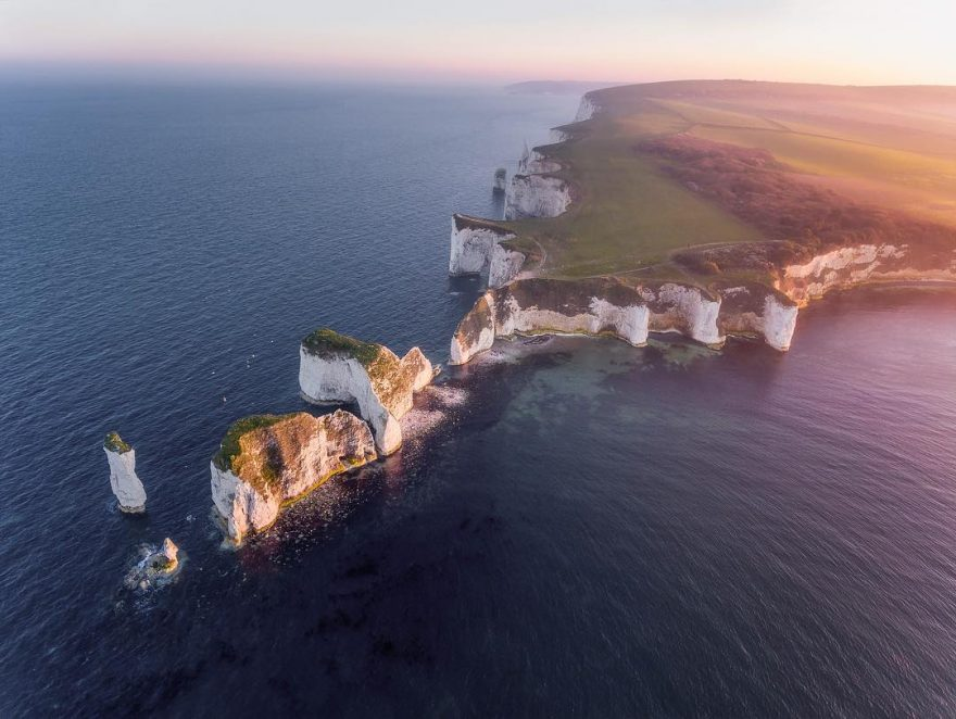 Потрясающие фото с дрона от Джерома Кортиала