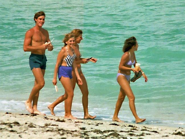 Подростки на пляжах Флориды в начале 1980-х