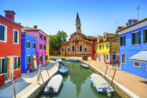 Остров Бурано, Италия