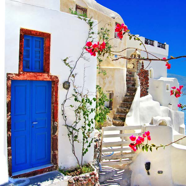 Oia Village в Санторини, Греция