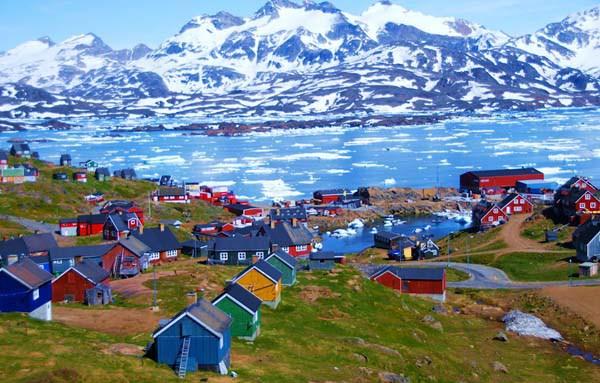 Ангмагссалик, иногда называемый Тасиилак, Гренландия