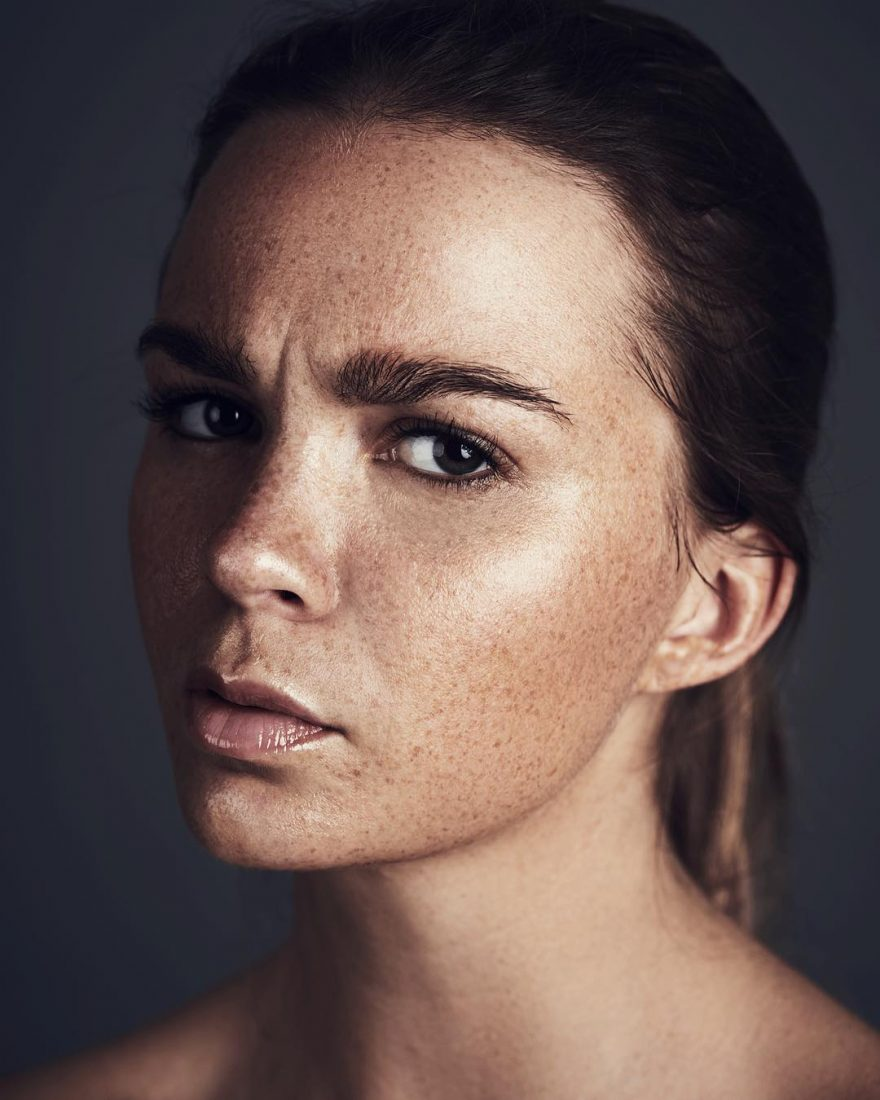 Обворожительные портреты девушек от Эрика Хакстадта