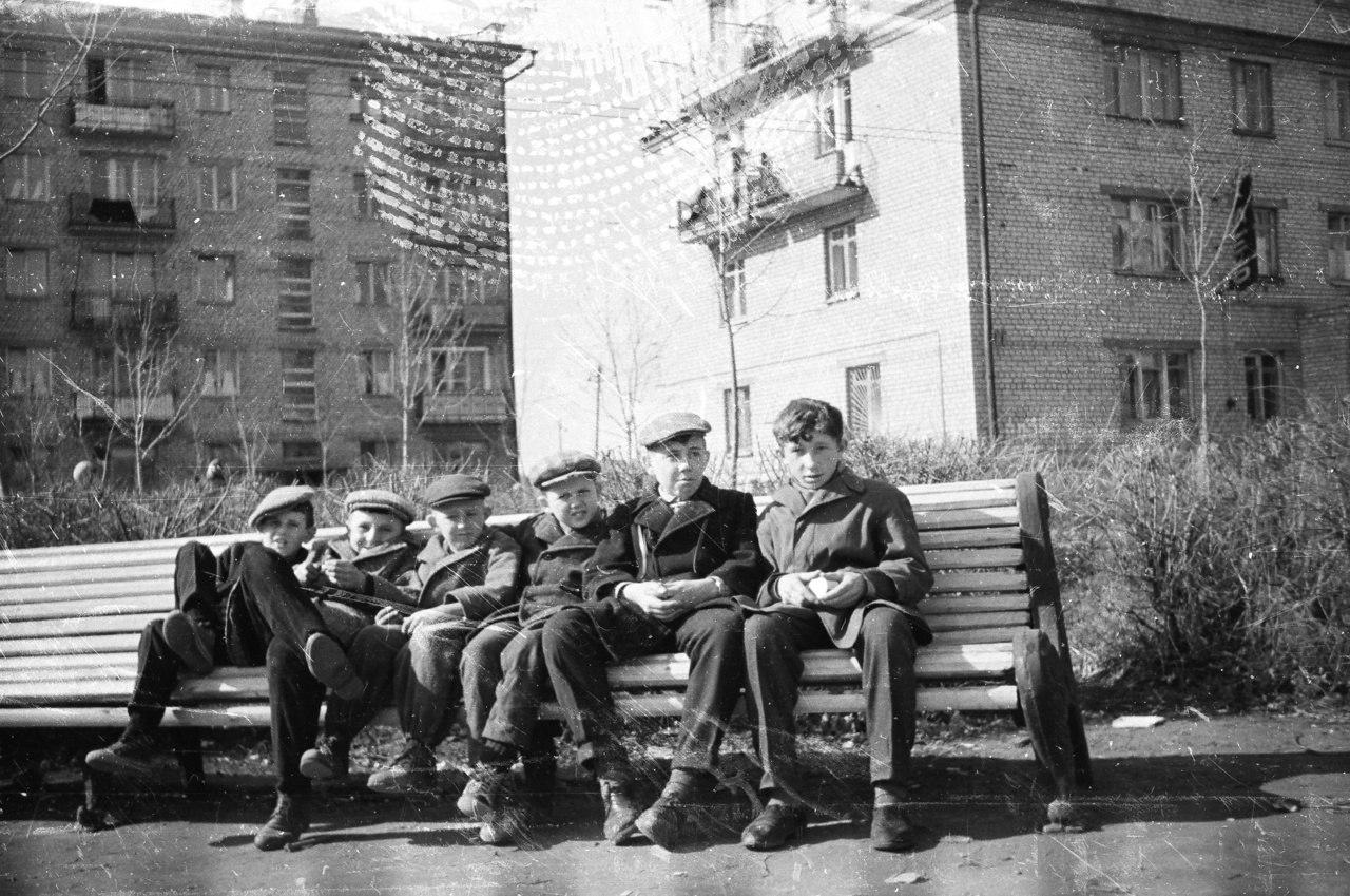 Куйбышев на старых советских фотографиях 60-70-х годов