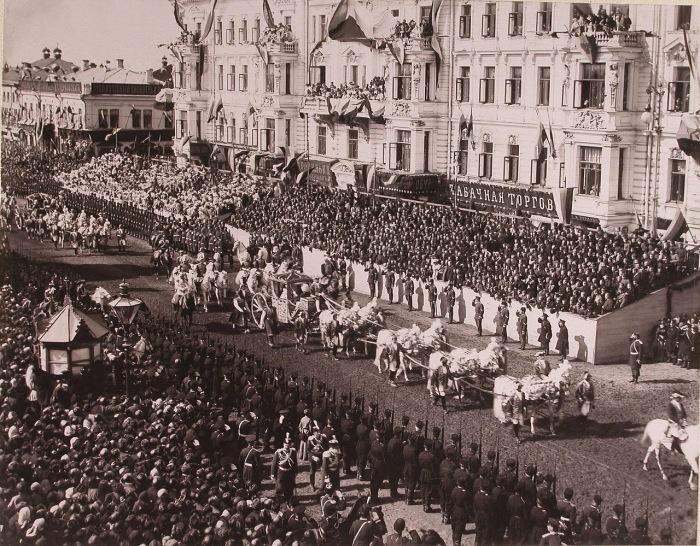 Коронация императора Николая II в 1896 году