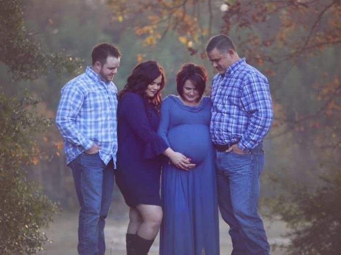 Женщина родила своего собственного внука