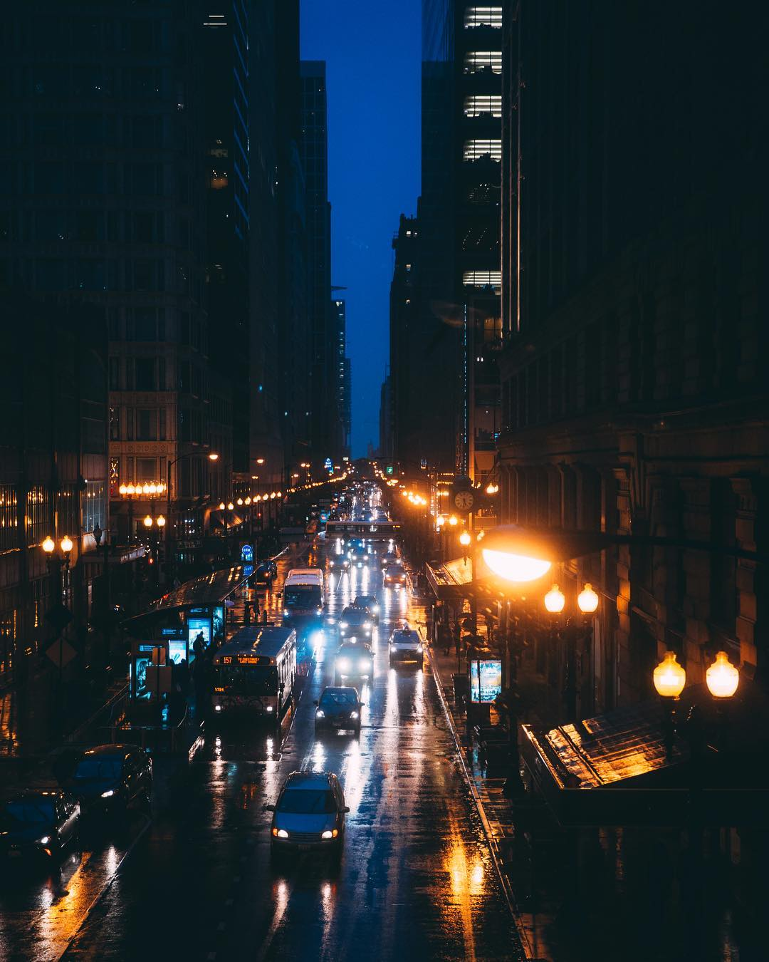 Атмосферные фотографии Чикаго Майкла Сэлисбери