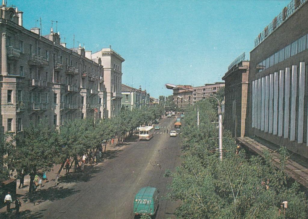 Улица Первомайская.