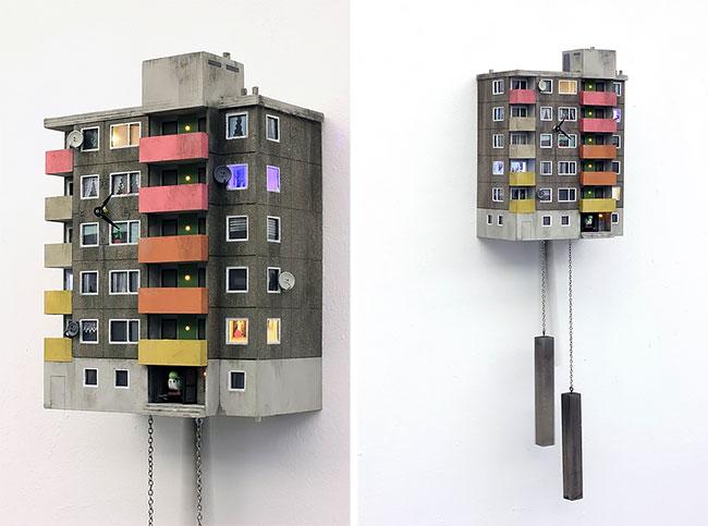 «Cuckoo Blocks»: ответ на обычные часы с кукушкой