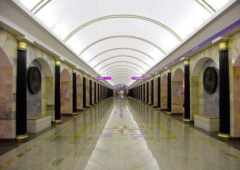 Станция «Адмиралтейская»