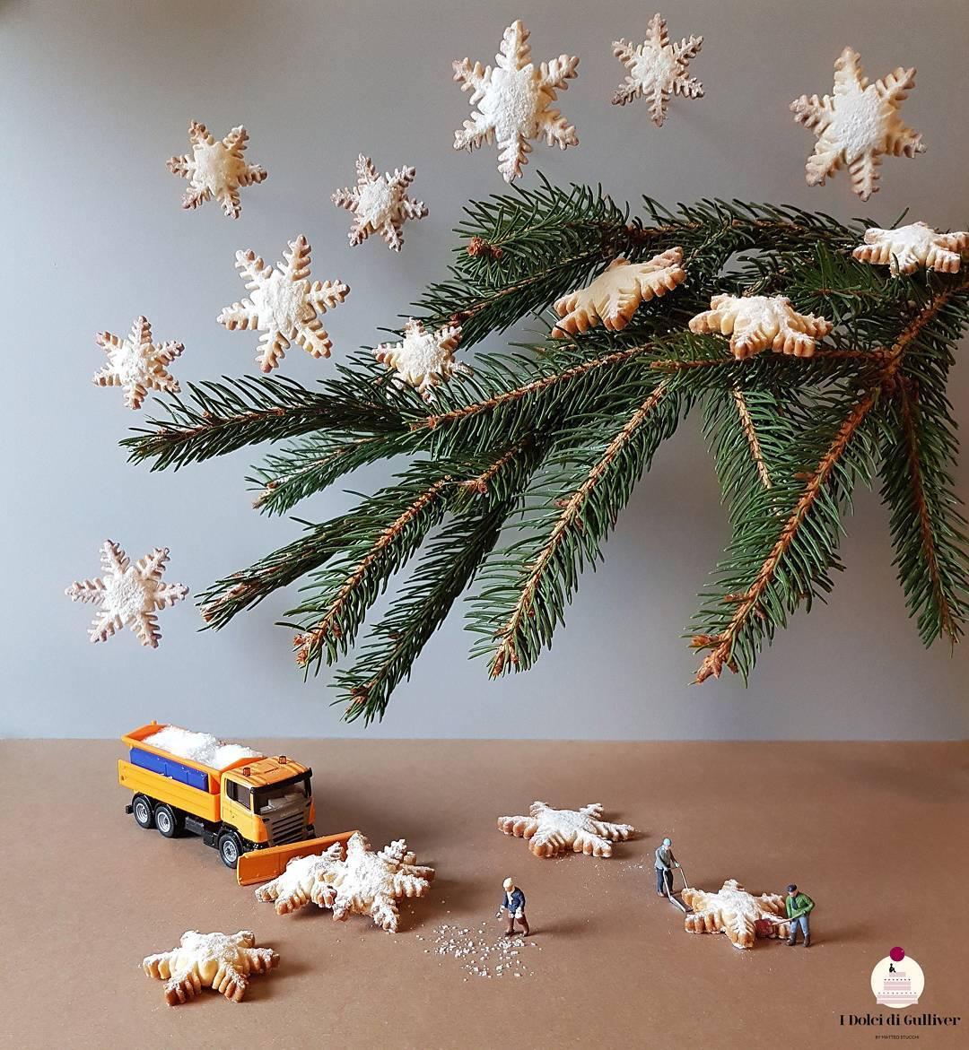 Истории в миниатюре с помощью кондитерских изделий