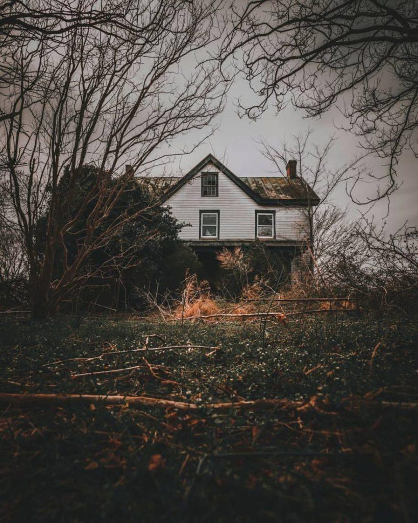 Заброшенные дома в Вирджинии и Северной Каролине