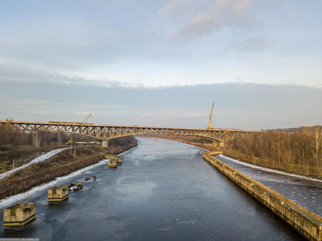 Мост ЦКАД через канал имени Москвы