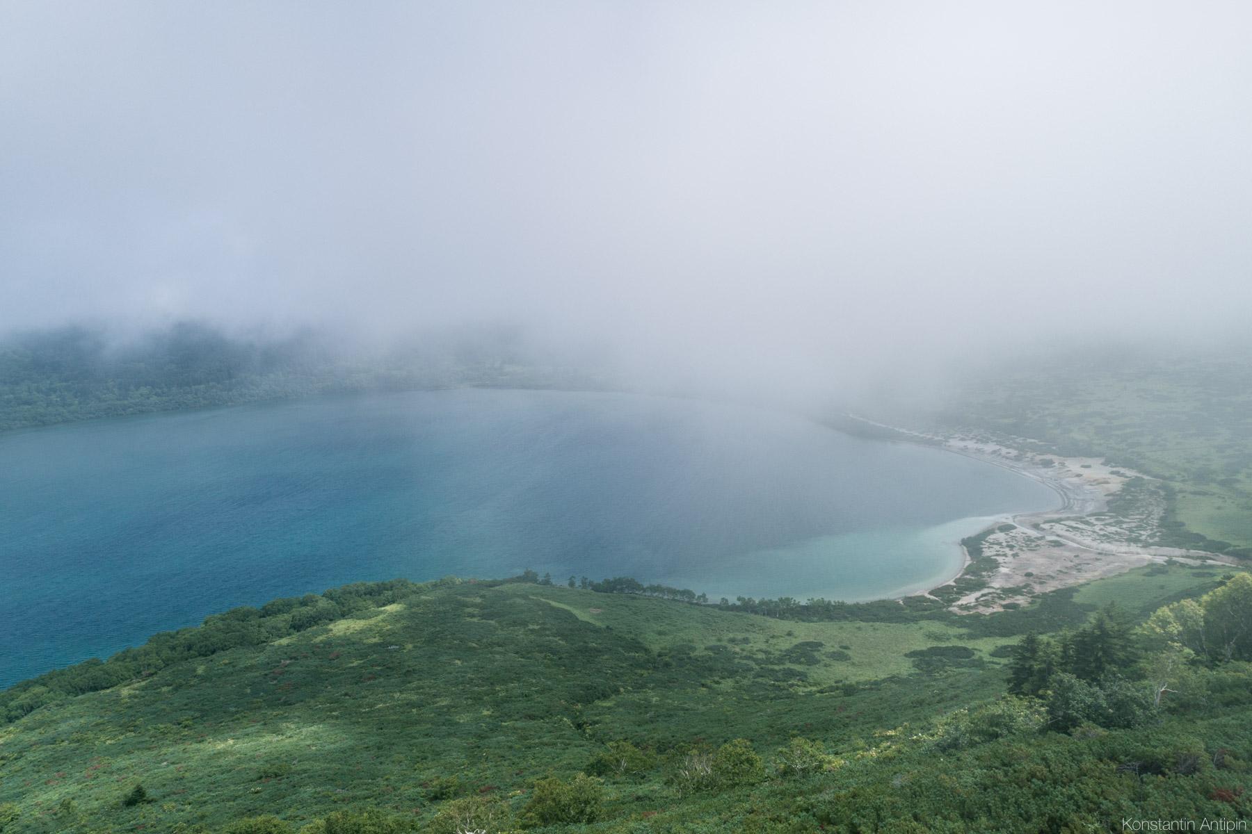 Кунашир - самый южный остров Курильских островов