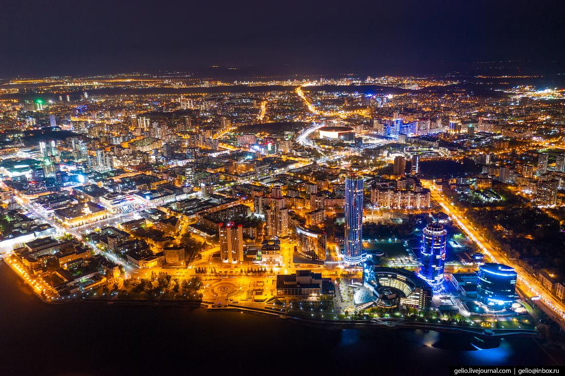 Виды Екатеринбурга с высоты