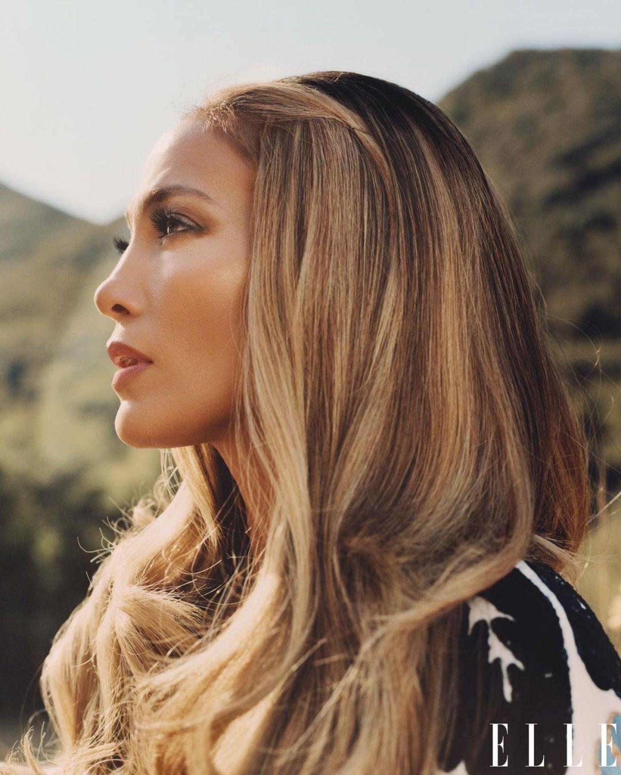 Фотосессия Jennifer Lopez (ELLE Magazine, февраль 2021)