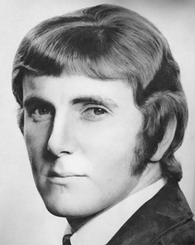 Галерея мужских причесок 1970-х годов