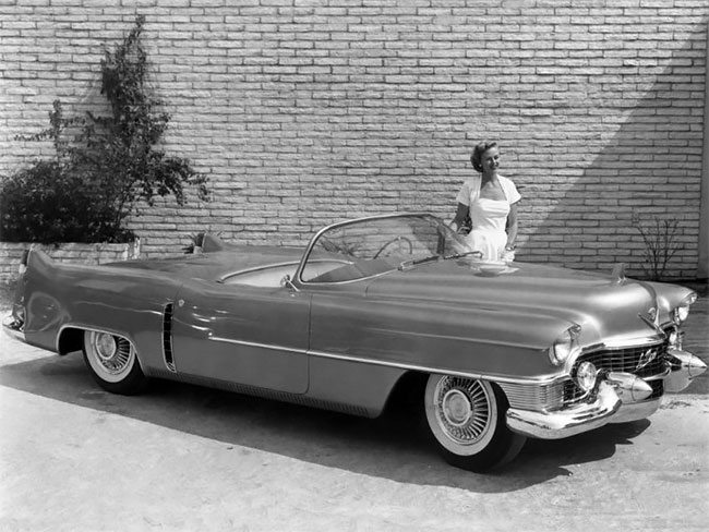 Красивые фотографии Cadillac Le Mans 1953 года