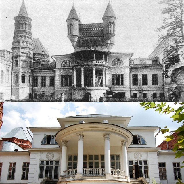 Исторические объекты России до и после реставрации