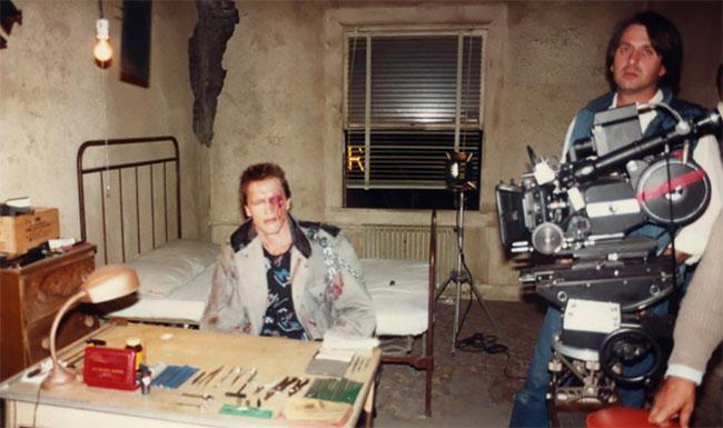 Удивительные закулисные фотографии Арнольда Шварценеггера в роли Терминатора, 1984 год