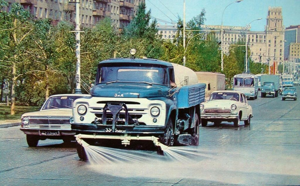 Жаркие летние дни в Советской России
