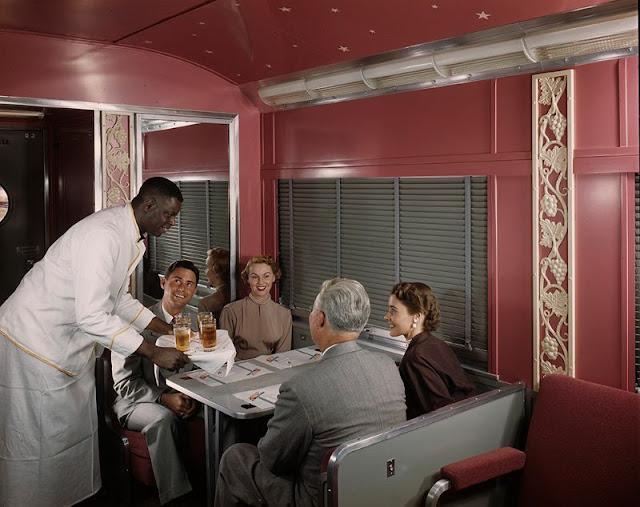 Когда путешествие на поезде было чудесным в 1950-е годы