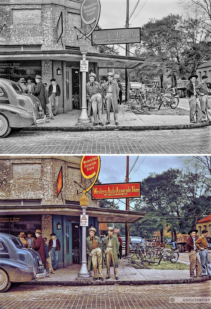 Художник раскрашивает 50 старых фотографий, чтобы изменить ваше восприятие истории