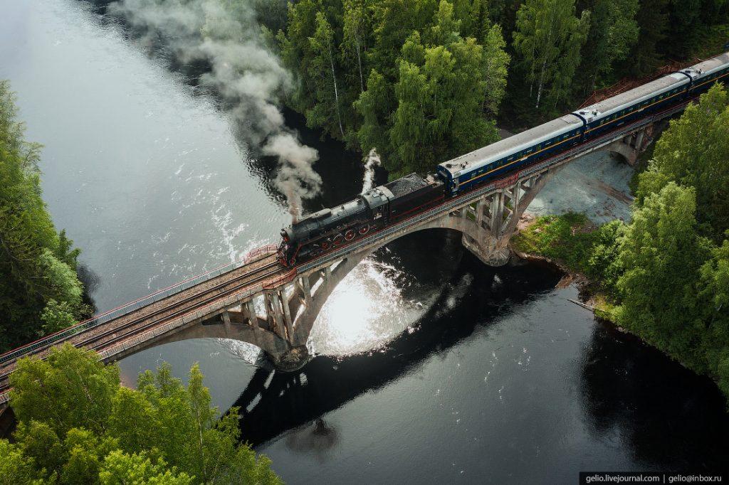 Рускеальский экспресс — ретропоезд в Карелии