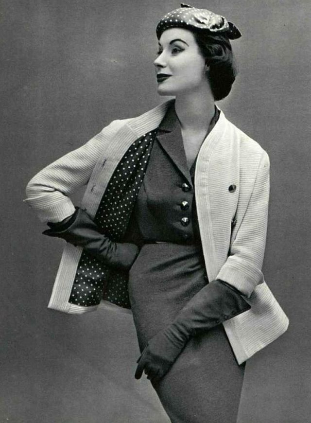 Миртл Кроуфорд: одна из ведущих моделей конца 1940-х - начала 1950-х годов