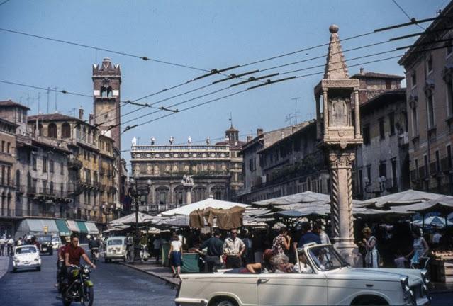 Цветные фотографии Италии 1960-х годах