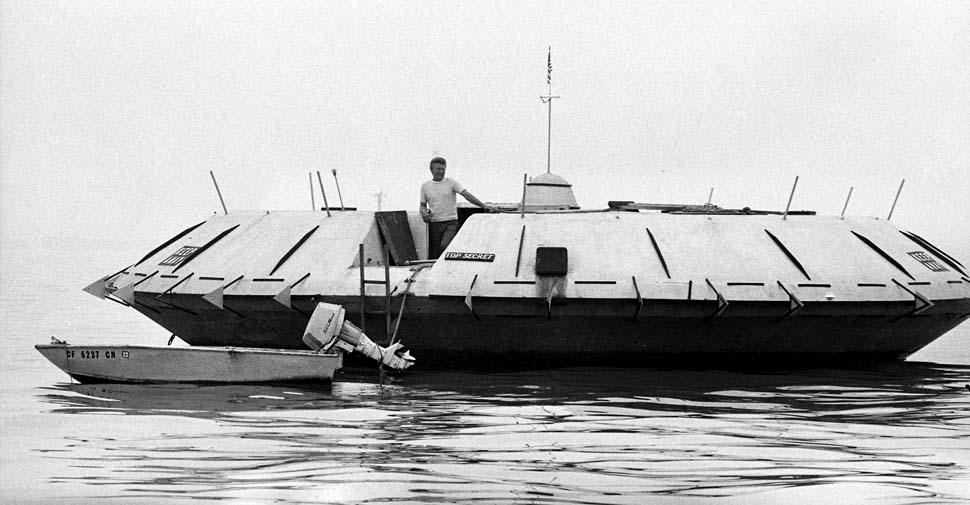 Совершенно секретный плавучий дом Криса Кристенсена, 1975
