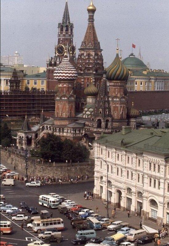 Москва 1975: люди и город более 40 лет назад