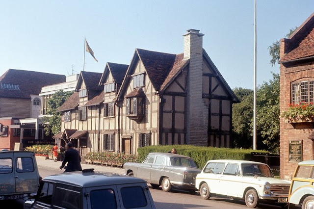 Стратфорд-на-Эйвоне в 1960-е годы: удивительные цветные фотографии