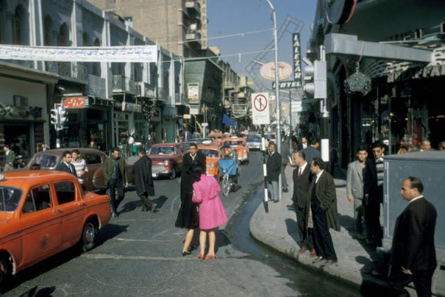 Винтажные снимки жизни в Иране в 1967 году