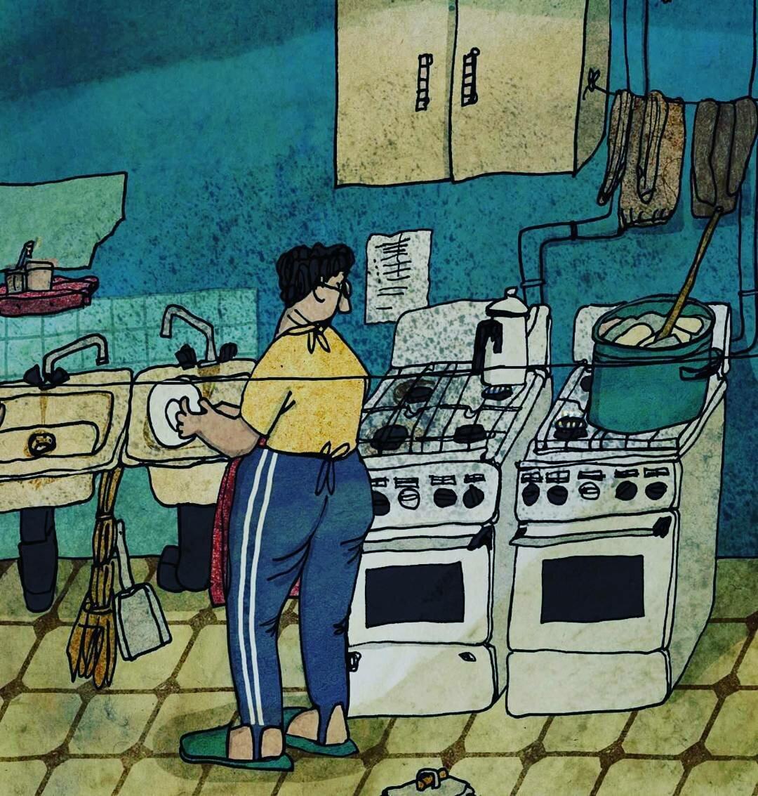 Симпатичные иллюстрации с советским настроением от Анны Десницкой