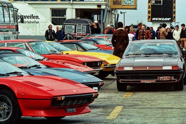 25 удивительных старинных фотографий Феррари 1970-х годов